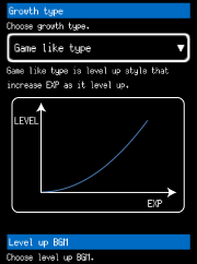 Growth type : Game like